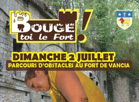bouge toi le fort course d'obstacles organisé par la mairie de rillieux la pape au fort de vancia actualités vanciaventure
