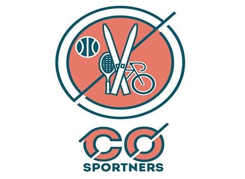 logo co sporters sur fond blanc