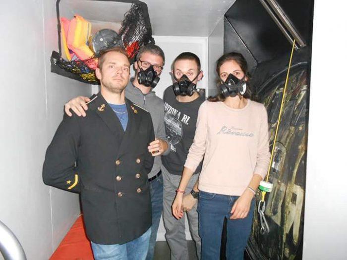 équipe vanciaventure fait un escape game