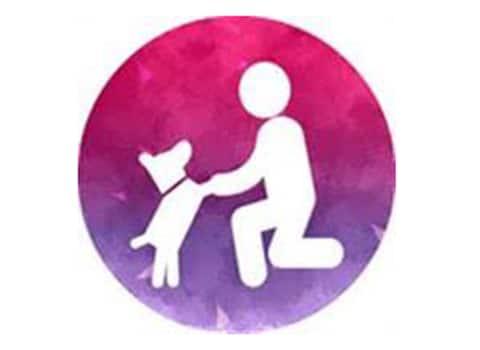 logo sans croquettes fixes association chat