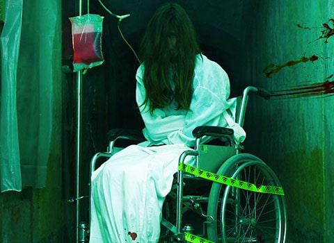 fauteuil roulant halloween parc vanciaventure maison hantée