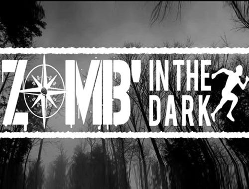 logo zomb in the dark course de zombies en france