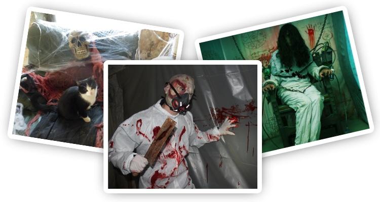 trois photos de monstres halloween vanciaventure